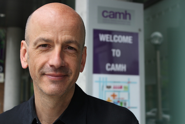 CAMH ethicist Kevin Reel