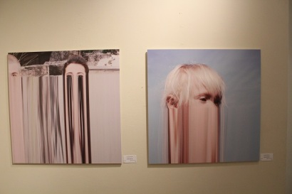 """Glitch"" series by Claudette Abrams"
