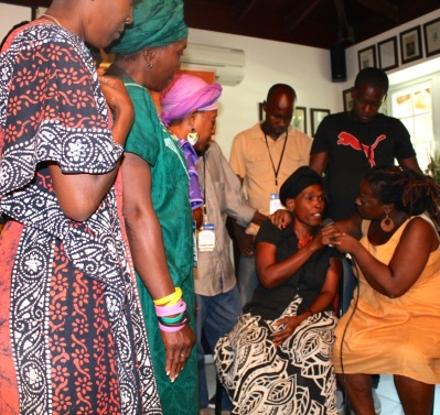 Performance by Vodou participants on the potential impact of CBT on sadness