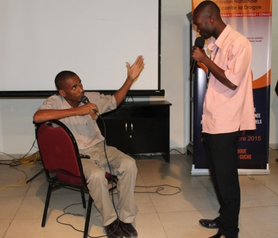 Role play of a typical counselling session from the Catholic sector